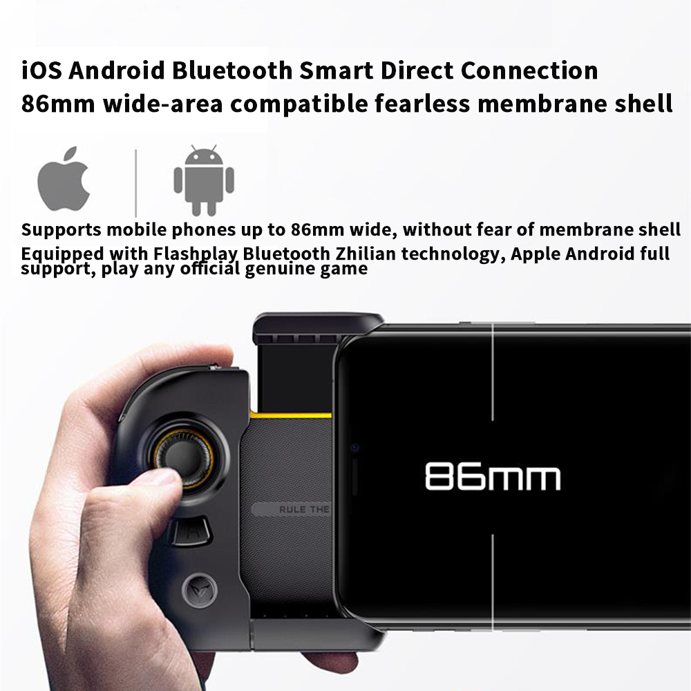 New Flydigi Wasp2 For PUBG bluetooth mobile Phone Game Gamepad One Hand Games Controller for iOS Android Smartphone Table - 6