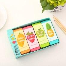 Rubber-Eraser Pencil-Art Korean Stationery School-Supplies Office Kawaii Candy-Color