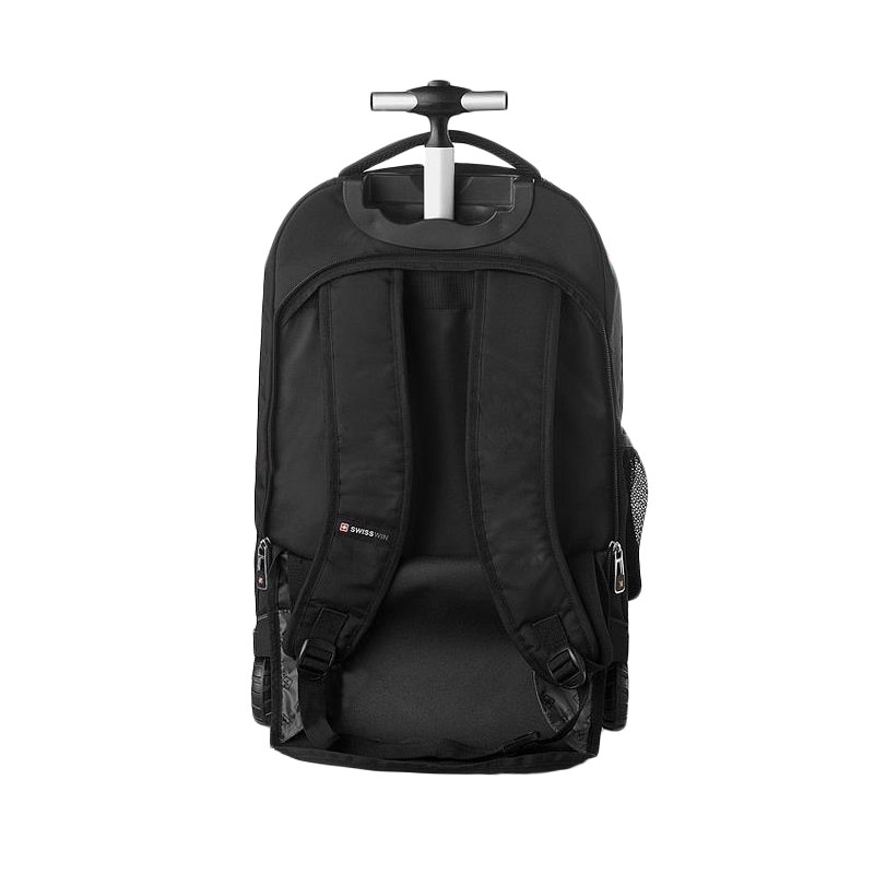Swiss gear rolling laptop backpack cg backpacks for Travel gear brand