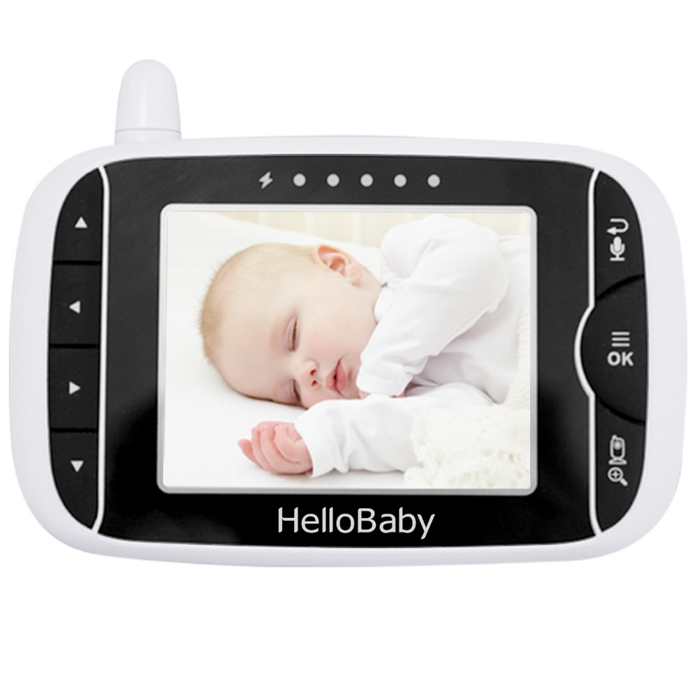 HelloBaby Video Baby Monitor Parent Handheld Unit Without Camera, HB32RX
