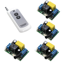 AC 220V 1CH Wireless Relay Remote Control Switch Radio Light Switch Micro 220 Switch With Remote