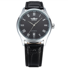 Watches Leather Date Dress