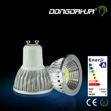 Economic Promotion GU10 3W 5W 7W 9W 220V pin GU5.3 LED lamp bulb lamp cup LED surface light source COB lamp with high brightness(China)