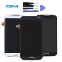 100 Tested New For Samsung Galaxy S4 I9505 LCD Display Touch Screen Digitizer Full Assembly Bezel