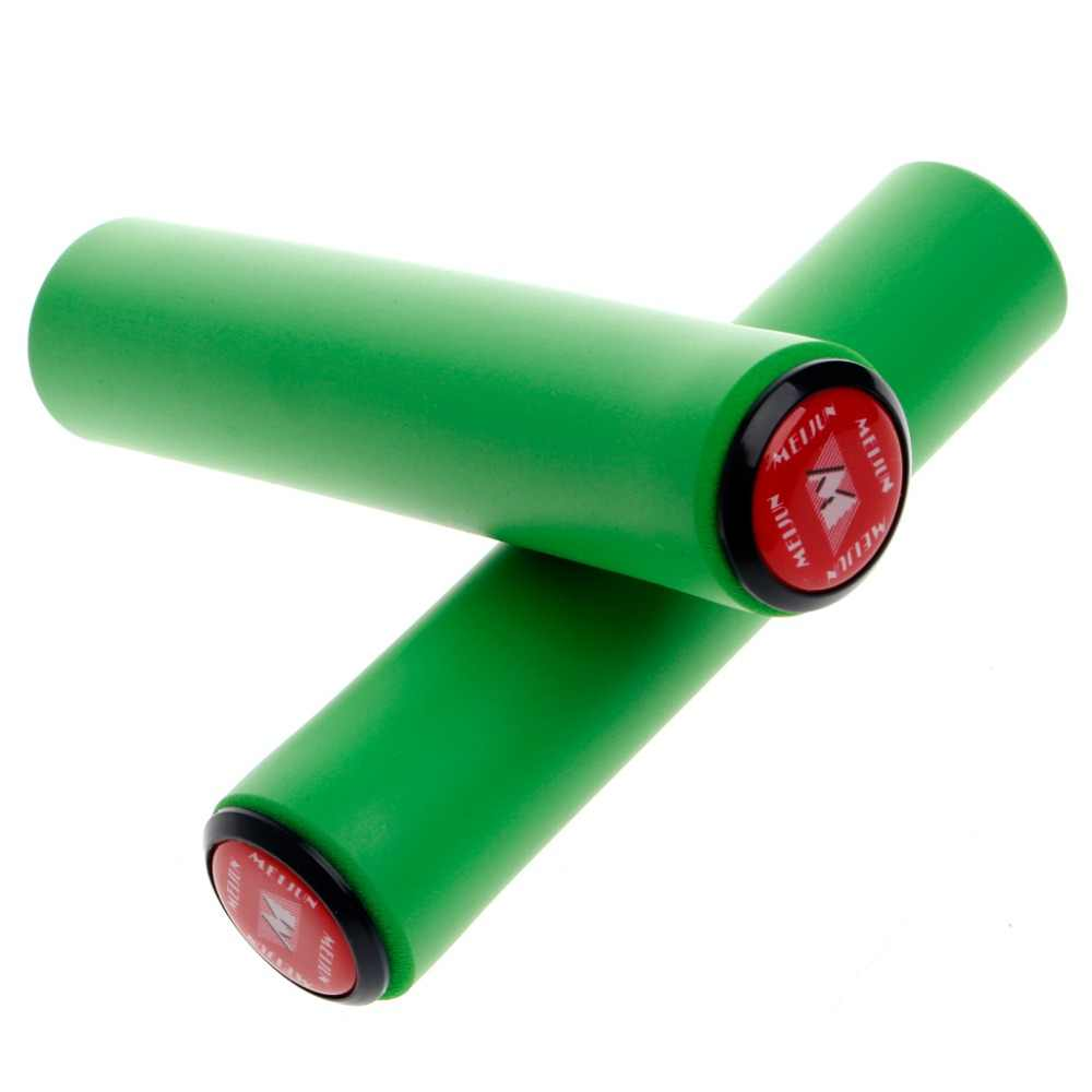 1 пара 2 шт ручки велоруля силиконовый материал рукоятки на руль высокой плотности MTB велосипедный руль противоскользящие ручки для велосипеда части велосипеда