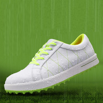 Designer Golf Shoes for Womens Breathable Soft Trainer Footwear Classic Sport Sneakers Light Brand Trail Shoes Size 35-39