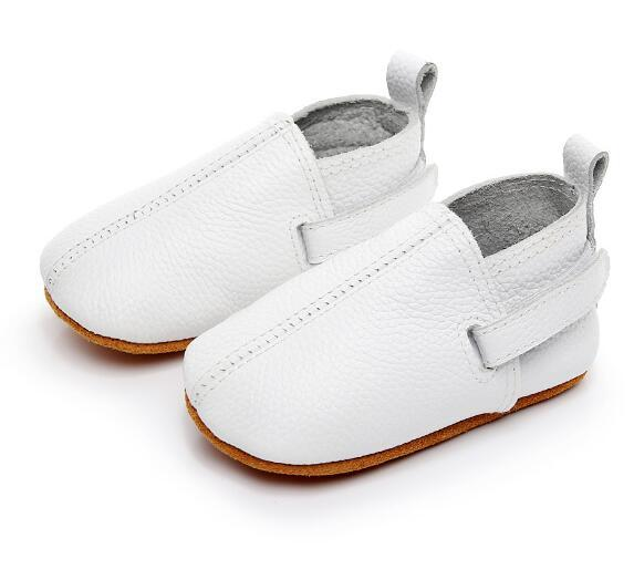 2019  customs new hot sell baby moccasins genuine leather handmade baby girls boys shoes first walkers fashion baby shoes 1
