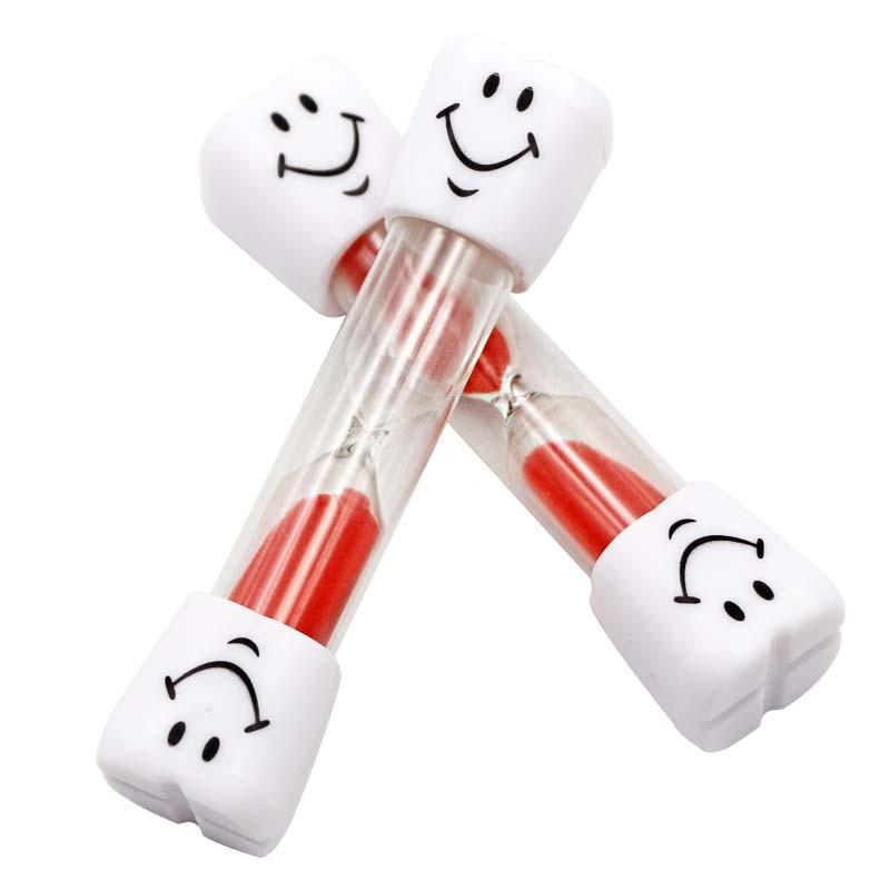 5 шт. 7 цветов зубные Зубы Форма Песок Часы песок час стекло 3/три минуты Дети зубная щетка таймер песок стекло стоматолога подарки инструменты