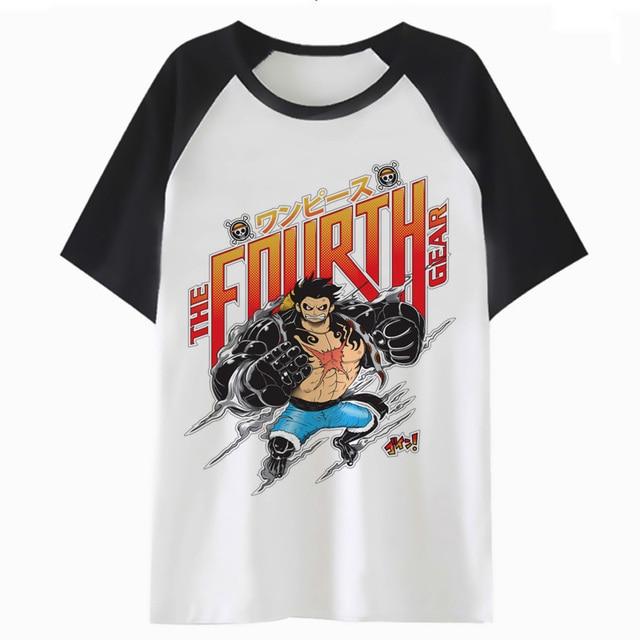 c861dcfab7cc One Piece Fourth Gear t shirt graphic t-shirt tee clothing femme harajuku  tshirt cartoon female kawaii women tops K4539