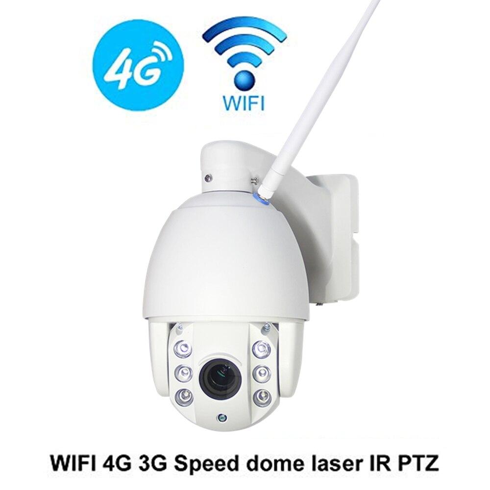 ZILNK 3g 4g Telecamera Speed Dome PTZ 960 p HD SIM Card WIFI Macchina Fotografica del IP di P2P Rete 5x obiettivo Zoom IR Notte Telecamera di Sicurezza Esterna