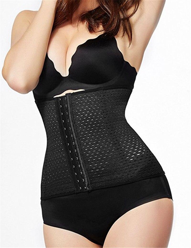 90fe2dbf6d Hot Body Shaper Waist Trainer Belt Steel Boned Corset Women Postpartum  Belly Slimming Belt Modeling Strap Shapewear free shipping worldwide