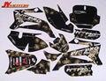 Moto peças 3 M TTR110 gráfica KIT decalques etiqueta para peças da bicicleta da sujeira peças da bicicleta do poço TTR110 frete grátis