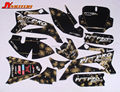 Motorcycle spare parts 3M TTR110 GRAPHICS KIT decals Sticker for Dirt bike parts Pit Bike Parts TTR110 free shipping