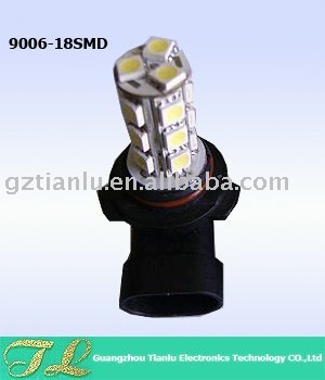 auto led/car led/auto led fog light/9006-18SMD