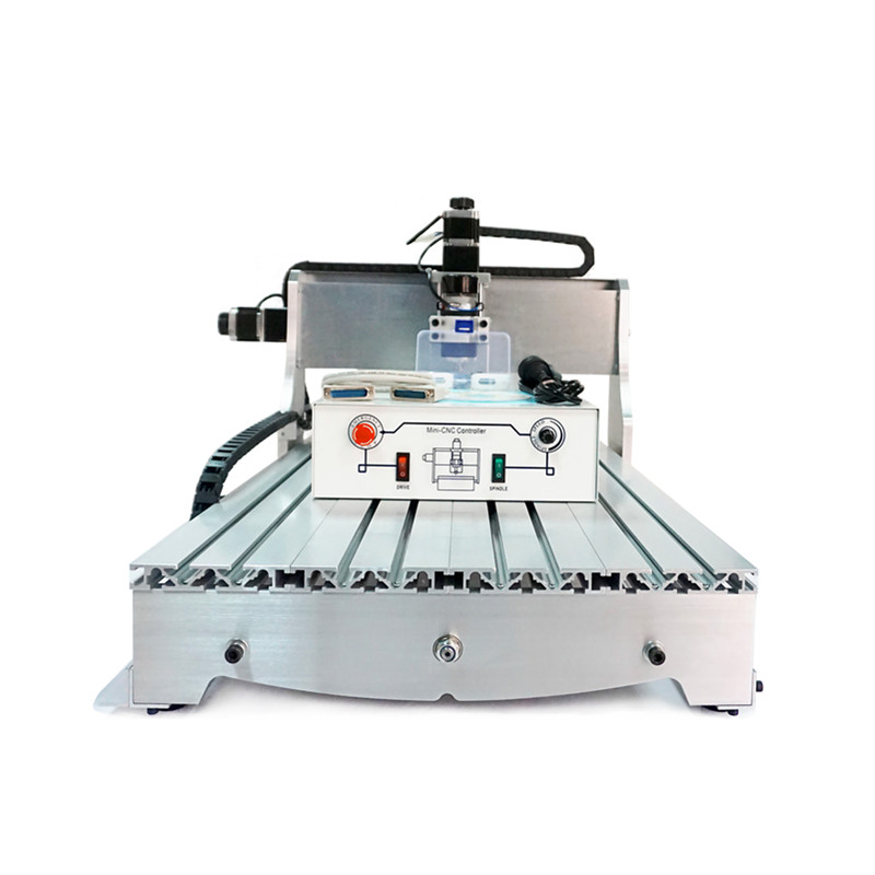 Russia no tax! CNC lathe  6040 Z-D300 4axis 110V/220V CNC milling machine router USB adpter high performance mini cnc machine 6040 4axis with water tank for metal wood stone milling no tax to russia
