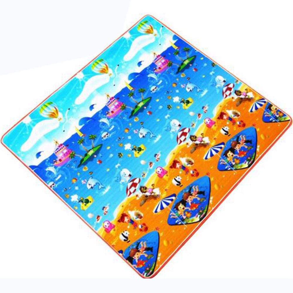 Baby Soft Developing Crawling Mat Foam Floor Children Activity Mat Kids' Rug Toys Carpet Infant Cartoon Letters 3