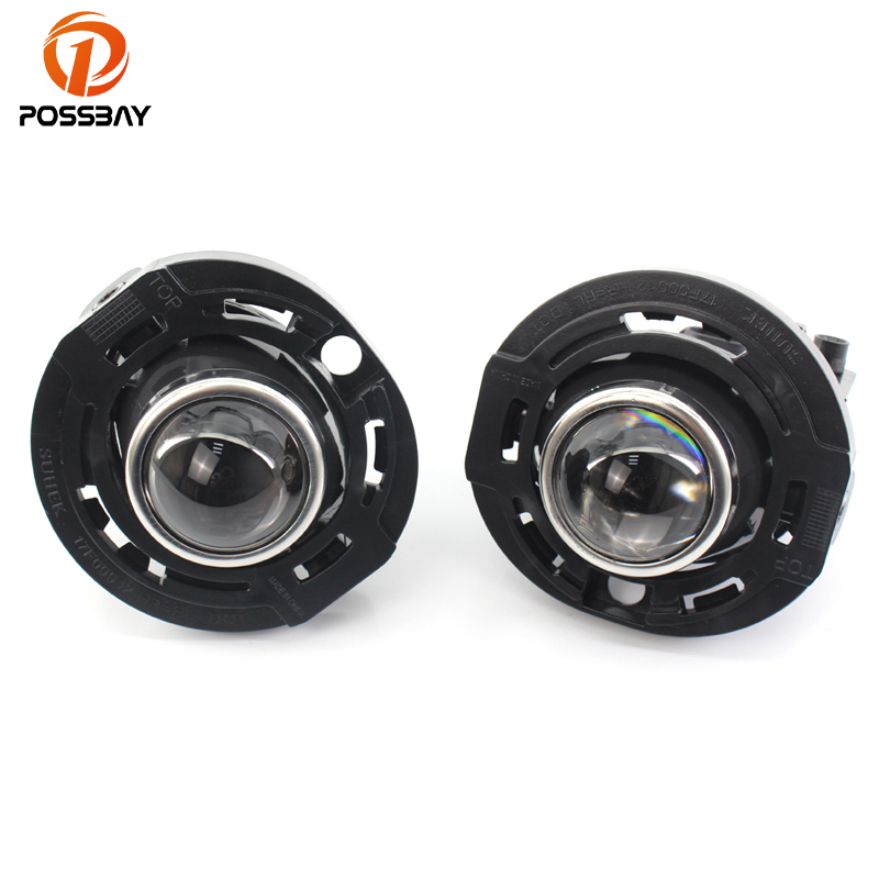 POSSBAY Clear Lens Fog Lights Projector Lens 12V Halogen Clear Lamps Fit for 2014 2015 2016 Jeep Grand CherokeePOSSBAY Clear Lens Fog Lights Projector Lens 12V Halogen Clear Lamps Fit for 2014 2015 2016 Jeep Grand Cherokee