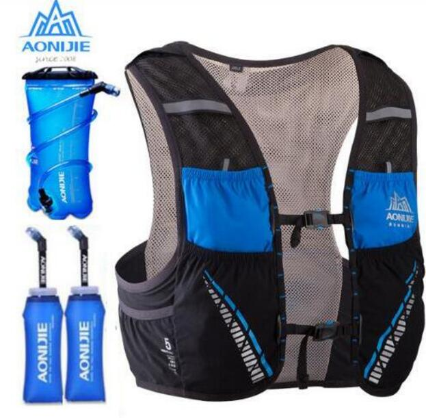 AONIJIE Running Bags Hydration Pack Backpack Rucksack Vest Harness Water Bladder Hiking Camping Marathon Race Climbing 5LAONIJIE Running Bags Hydration Pack Backpack Rucksack Vest Harness Water Bladder Hiking Camping Marathon Race Climbing 5L
