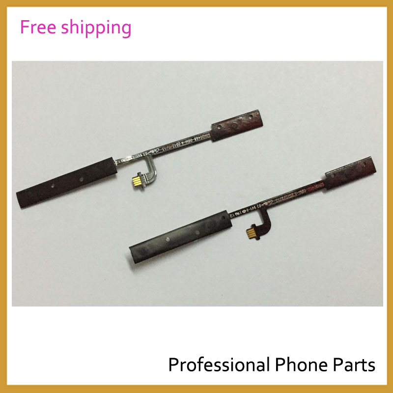 Original Cellphone Parts Power On Off With Volume Button Ribbon Flex Cable For HTC One V T320e