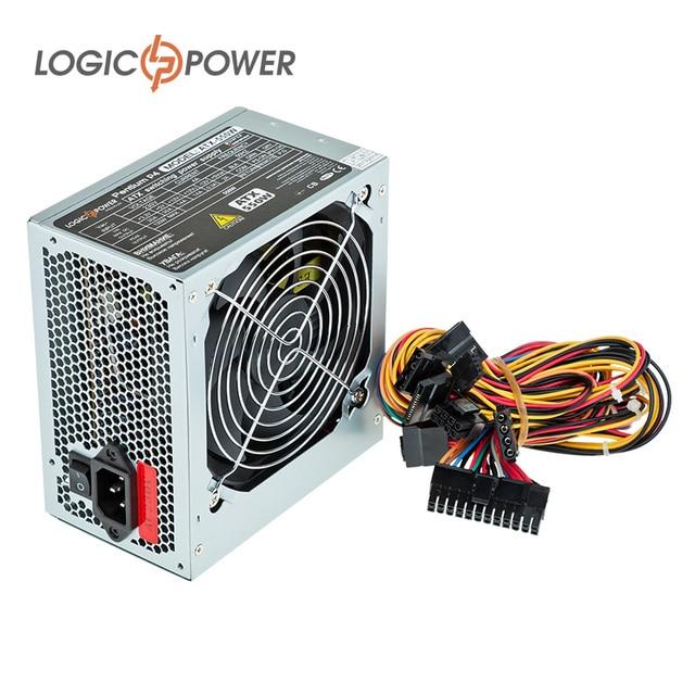 psu LOGIC POWER PC power supply ATX 550W, 12 cm, 24 pin, 4xSATA, PCI ...
