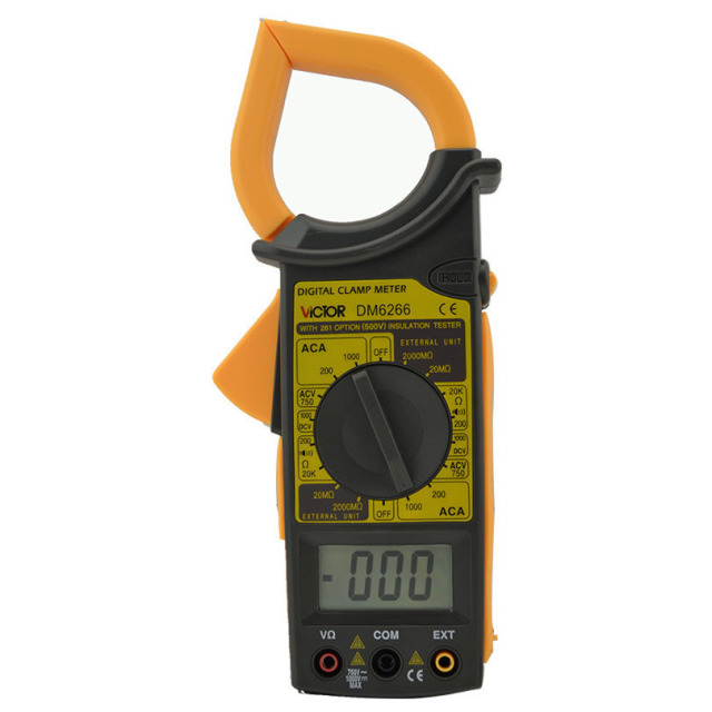 Clamp amperemeter DM6266 einheit symbol display klemme amperemeter ...