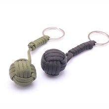 Кулак обезьяна подшипника самообороны стальной шарик выживание безопасность защита ремешок брелок