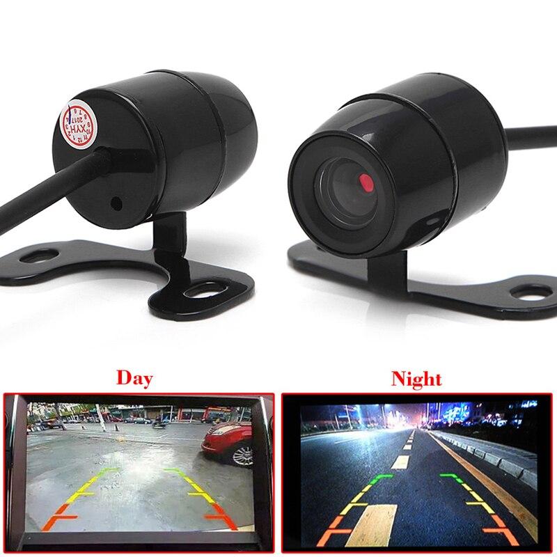 1Set 12V Mini Color CCD Reverse Backup Car Front Rear View Camera Night Vision Drop shipping