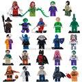 NOVO Single Venda DC Marvel Super Heroes Avengers Batman Azul Besouro Brinquedos de Blocos de Construção Tijolos Legoes Compatível para Crianças