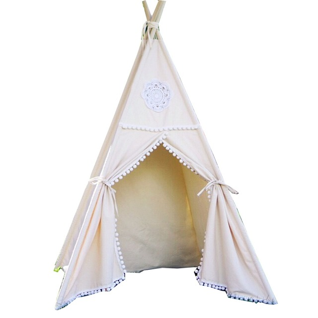 Free Love @beige color design kids play tent indian teepee children playhouse children play room  sc 1 st  AliExpress.com & Free Love @beige color design kids play tent indian teepee ...