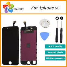 100 Guarantee iphone 6 Display 4 7 LCD replacement Touch Screen Digitizer Screen Lens Assembly original