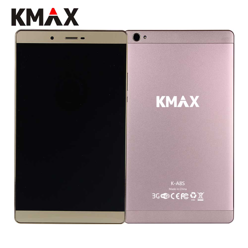 KMAX K A8S Tablet 8 inch IPS Quad Core MTK CPU Built in 3G Phone Call