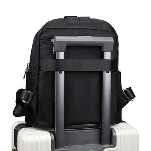 Image 5 - Sac à dos femme Style Preppy Nylon femmes sac à dos haute qualité étanche sacs à bandoulière adolescent étudiant sac pour filles sacs