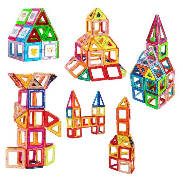 95 ШТ. магнитные строительство игрушки строительные блоки для детей конструкции Магнитный магнит игрушки модели и строительство игрушки