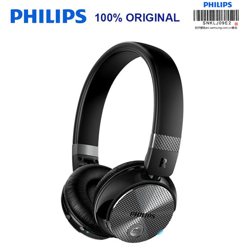 Original Philips SHB8850 Active Noise Cancelling Wireless Bluetooth Headphones NFC Headset with Microphone Official Verification