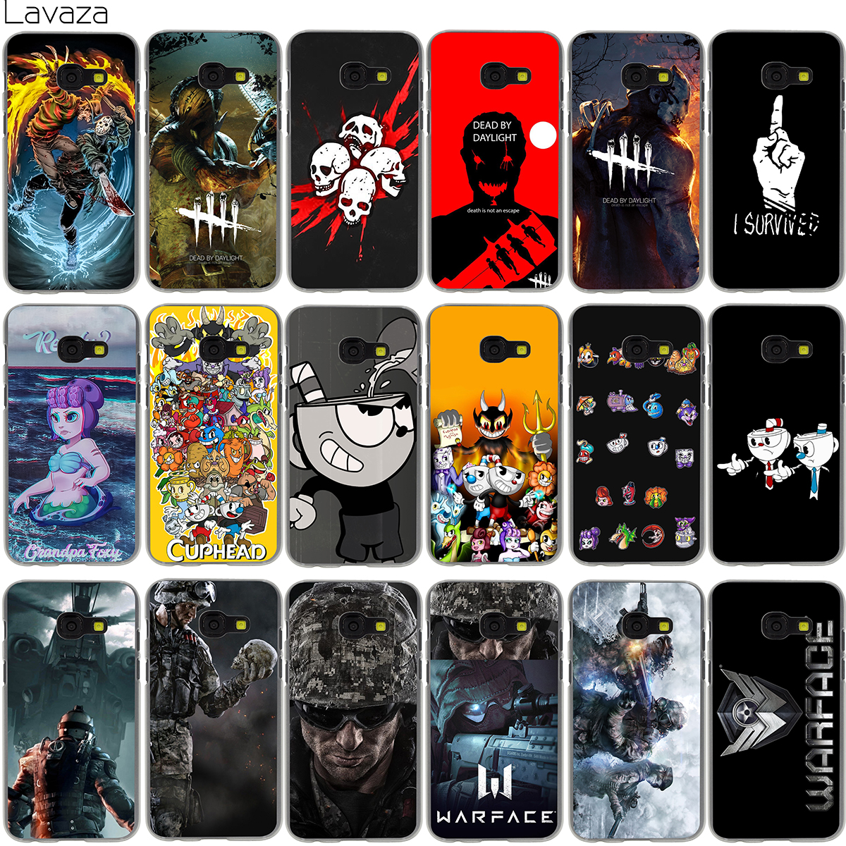 Lavaza Dead by Daylight Cuphead Warface Case for Samsung Galaxy Note 8 A3 A5 A8 J3 J5 J7 2016 2017 2018