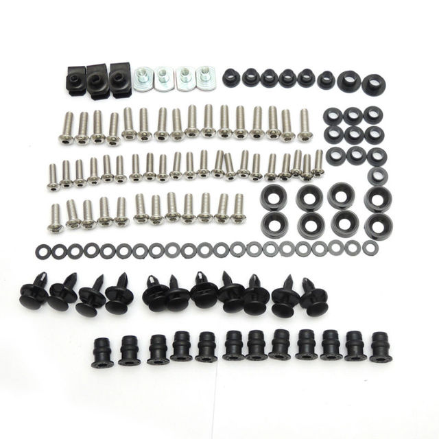 2003 2004 2005 CBR600RR Motorcycle Fairing Bolt Screw Fastener Fixation for Honda CBR600RR CBR 600RR 2003 2004 2005 2006