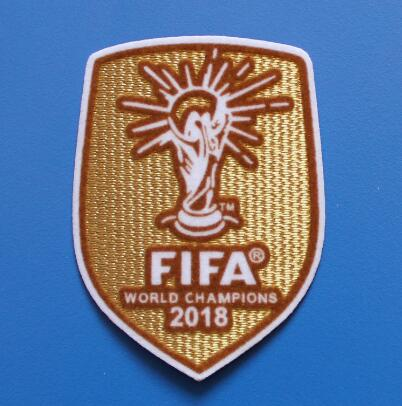 2017/2018 uefa fifa world champions league trophy 12 patch badge.