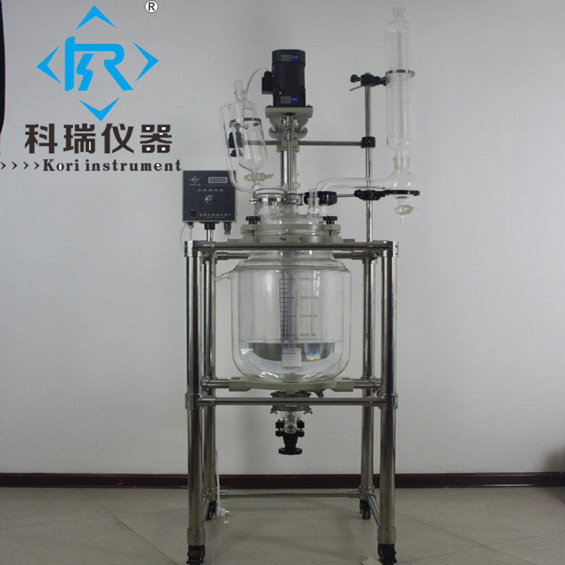 Durable 20L Lab Apparatus Vacuum Pilot Stirred glass reactor From China Supplier fuzzy logic control of continuous stirred tank reactor cstr page 3