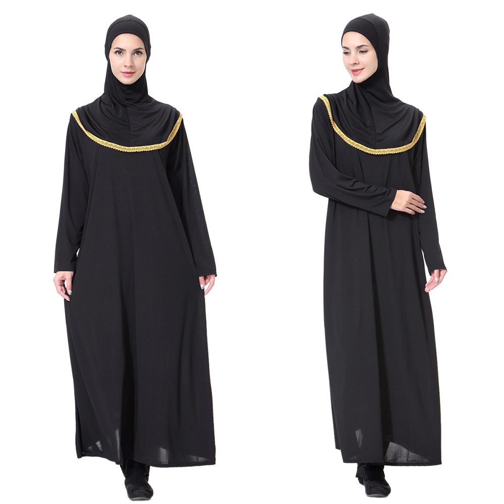 17b2d1ca3edaa New hijab scarf evening dresses bangladesh kaftan dubai abaya pakistan  caftan muslim black dress women djellaba islamic clothing