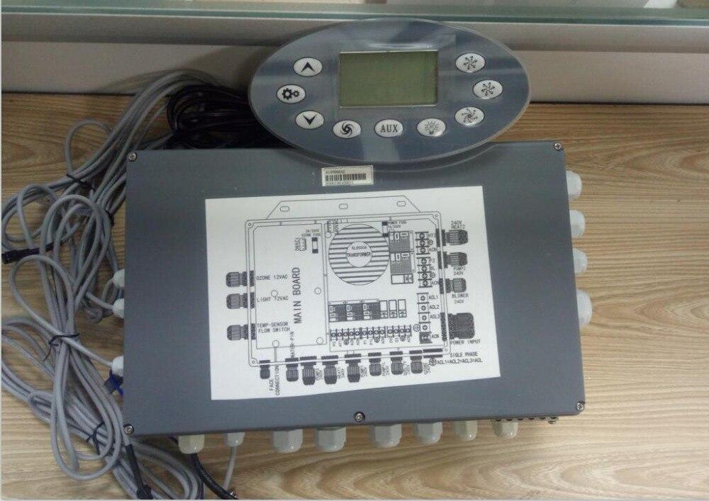 Ethink Jazzi KL8600 hot tub Keypad Display Panel fit KL8500 KL8200 KL8100