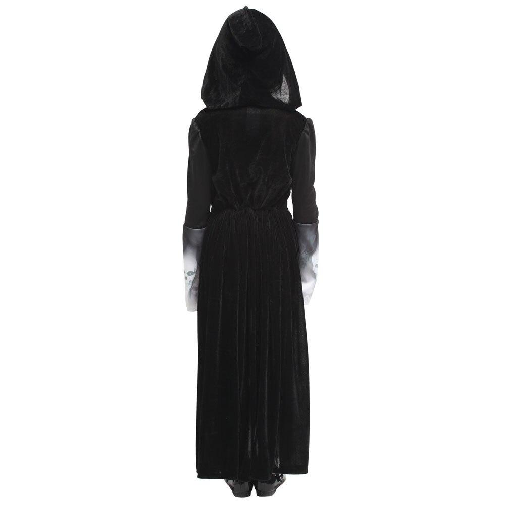 Spooky Grim Reaper Souls Halloween Costume  4