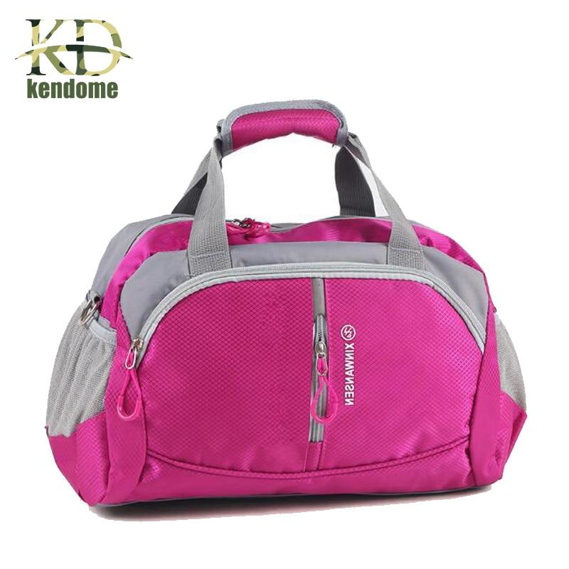 2018 Professional Nylon Waterproof Sports Gym Bag women Men for the gym Fitness Training Shoulder handbags Bag yoga Bag Luggage