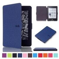 1pcs Ultra Slim E Book Case For Amazon Kindle Paperwhite Paper White Fashion Cross Line E