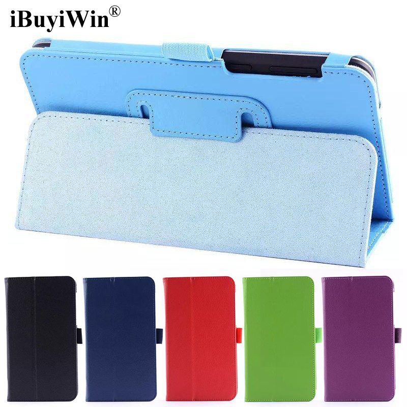 iBuyiWin Folding Folio Stand Cover PU Leather Case for Asus FonePad 7 FE375 FE37