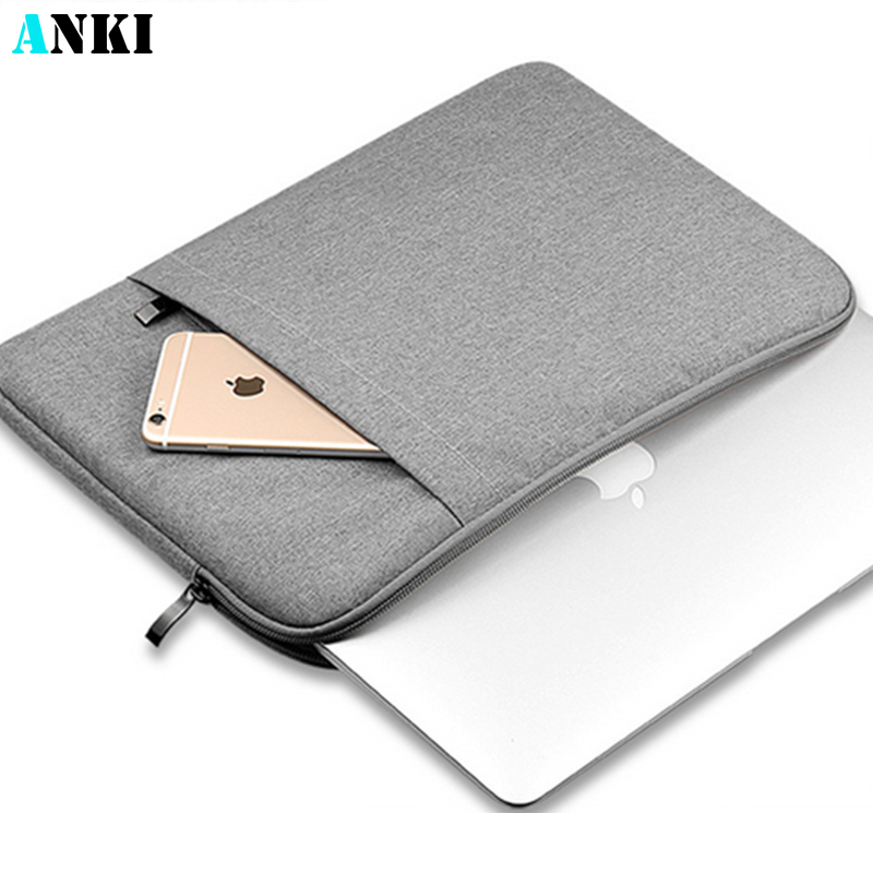 Nylon Laptop Sleeve Notebook Bag Pouch Case for Macbook Air 11 13 12 15 Pro 13.3 15.4 Retina Unisex Liner Sleeve for Xiaomi Air kalidi laptop sleeve bag waterproof notebook case for macbook air 11 13 pro 13 15 retina ipan mini 1 2 3 surface pro 12