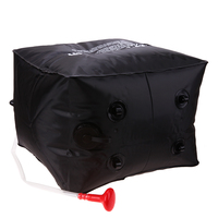40L Shower Bag Foldable Solar Energy Heated Camp PVC Water Bag Outdoor Camping Travel Hiking