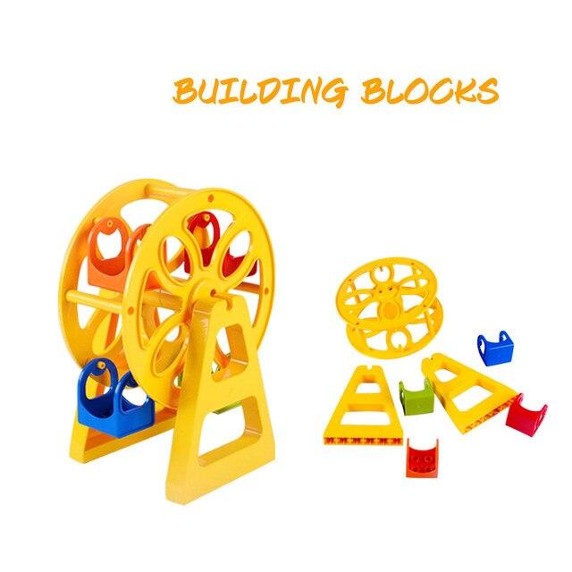 Moinho de vento de Brinquedo para LOL Jogo Blocos de Slides Meninas Do Bebê Caçoa o Presente Surpresa Boneca Brinquedos Educativos para Crianças MJ1025