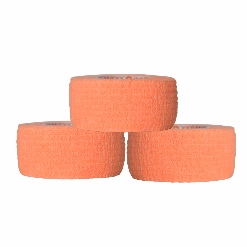 Wholesale 100Pcs/Lot Non woven Self Adhesive Cohesive Bandage elastic gauze 2.5cm*4.5m цена