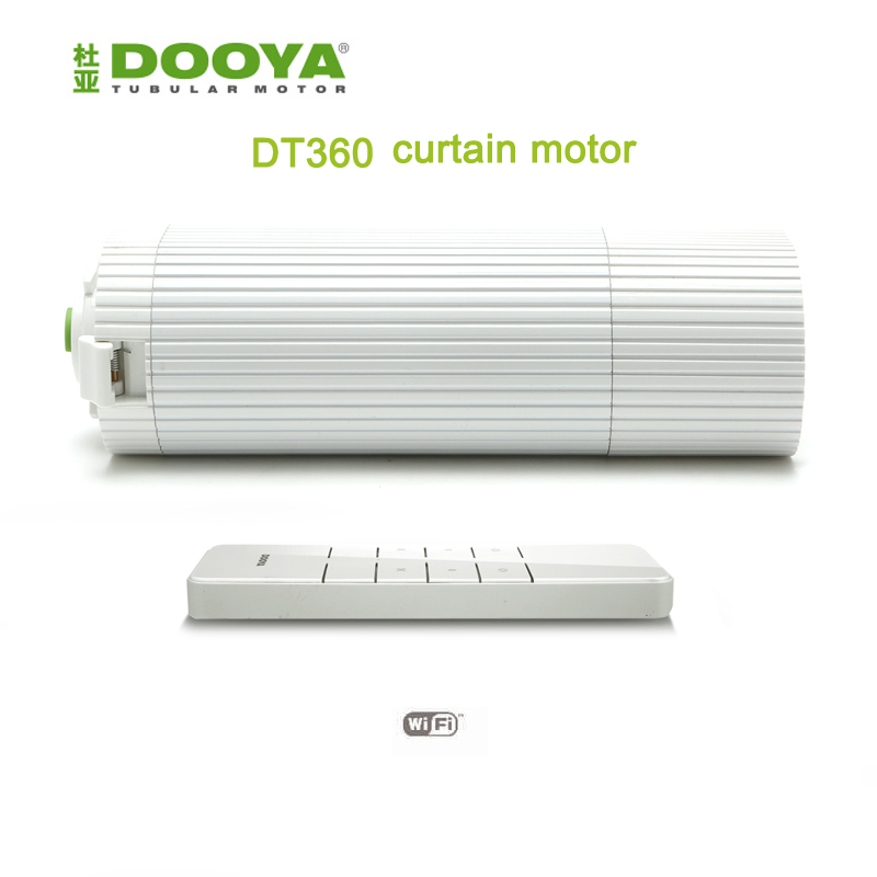 Broadlink DNA Dooya DT360E Electric Curtain Motor+controller DC2760 ,IOS Android Control For Smart Home Automation