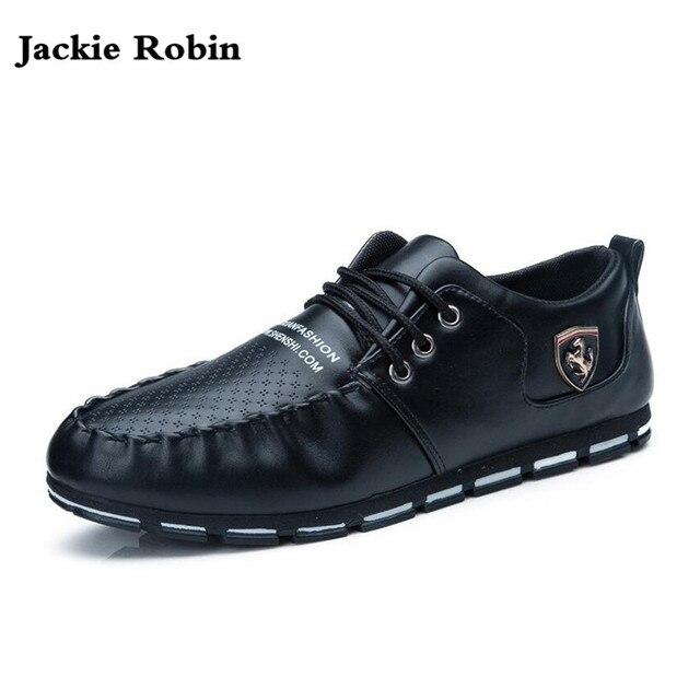 2e843a66 2018 nuevos zapatos de hombre de marca Casual zapatos de ocio de verano  zapatos de cuero